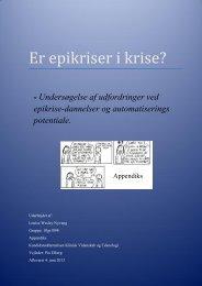 Appendiks - Aalborg Universitet