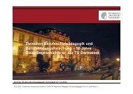 Zwischen Berufsschulpädagogik und Berufsbildungsforschung – 50 ...