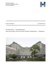 Download evalueringsrapporten - Glostrup Hospital