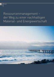Ressourcenmanagement – der Weg zu einer ... - IBI - ETH Zürich