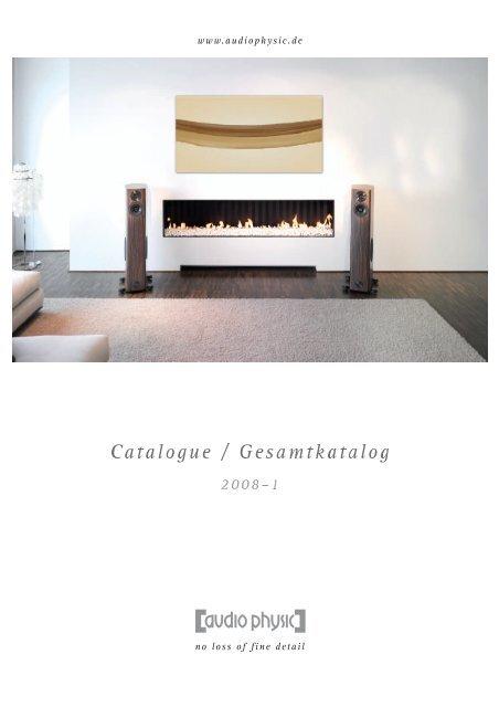 Catalogue 2008 - Audio Physic