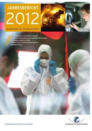 jahresbericht - DORIS - Bundesamt für Strahlenschutz