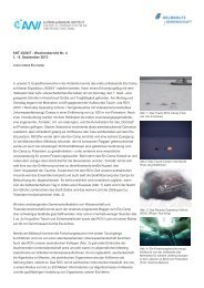 ANT-XXIX/7 - Wochenbericht Nr. 4 2. - 8. September 2013 In ... - ePIC