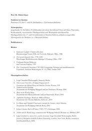 Wissenschaftliches Profil - Hochschule für Musik Franz Liszt