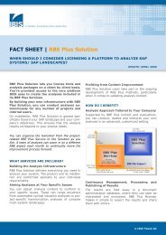FACT SHEET | RBE Plus Solution - IBIS Prof. Thome AG