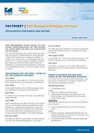 Fact Sheet. - IBIS Prof. Thome AG