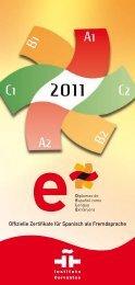 Offizielle Zertifikate für Spanisch als ... - Instituto Cervantes Wien