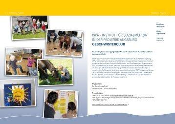 IsPa – InstItut für sozIalmedIzIn In der PädIatrIe auGsBurG ...