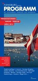 Hier die aktuelle Ausgabe ansehen - Flensburg Programm