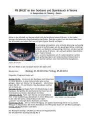 Mit BIKULT an den Gardasee und Opernbesuch in Verona