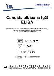 Arbeitsanleitung Candida albicans IgG ELISA - IBL international