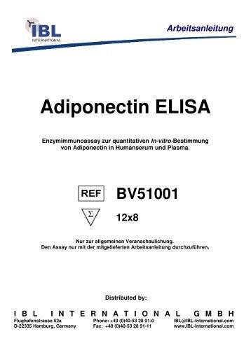 Adiponectin ELISA - IBL international