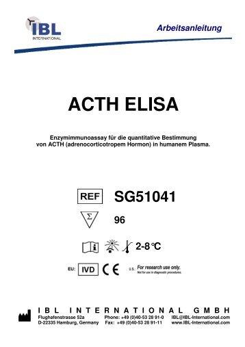 ACTH ELISA - IBL international