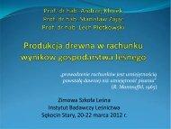 cd - Instytut Badawczy Leśnictwa