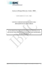 Instituto de Biologia Molecular e Celular - IBMC