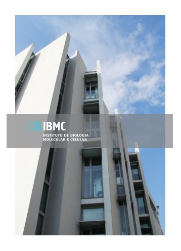 instituto de biologia molecular e celular - IBMC - Universidade do ...