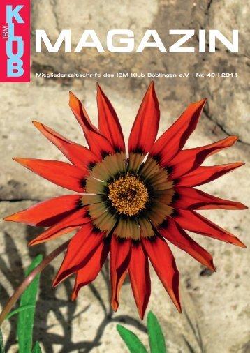 Magazin 48 - IBM Klub Böblingen eV
