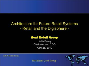 IT Perspectives - the International Retail User Group