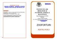 (zoofort-uri) pentru porcine – 3 produse - IBNA