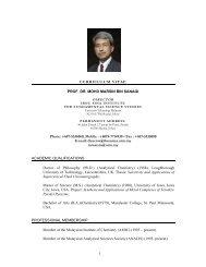 1 CURRICULUM VITAE PROF. DR. MOHD MARSIN BIN SANAGI ...