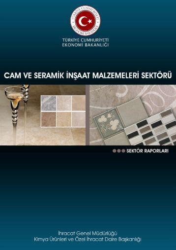 Cam ve Seramik İnşaat Malzemeleri - İhracat Bilgi Platformu