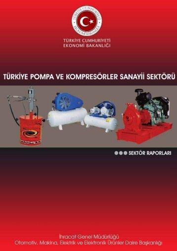 Pompa ve Kompresörler Sanayii Sektörü - İhracat Bilgi Platformu
