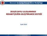 PowerPoint Sunusu - Ä°hracat Bilgi Platformu