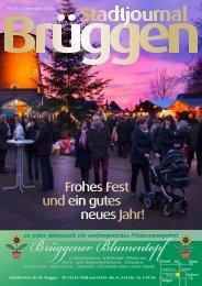 Stadtjournal Brüggen Dezember 2013