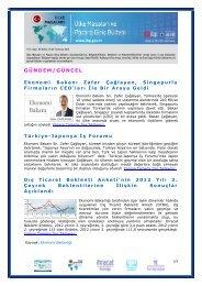 GÜNDEM/GÜNCEL - İhracat Bilgi Platformu