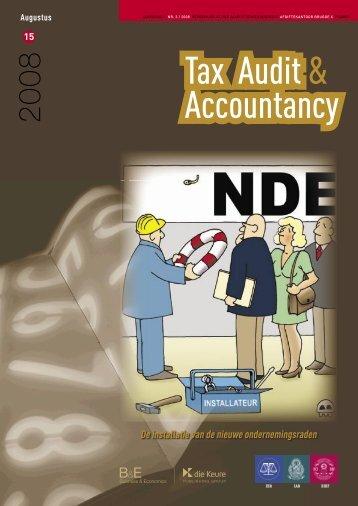 Tijdschrif accountancy & tax nr 15 - IBR