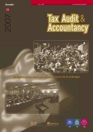 Tax Audit & Accountacy Magazine - Jaargang 2 NR. 6 - IBR