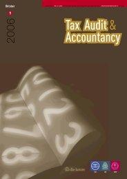Download hier de PDF-versie van het tijdschrift Tax Audit ... - IBR