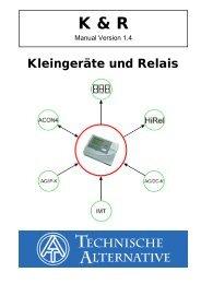 K & R - Technische Alternative Elektronische ...