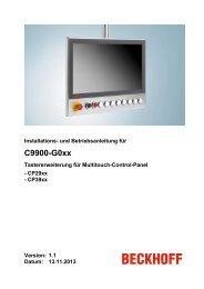 C9900-G0xx Tasterweiterung - download - Beckhoff