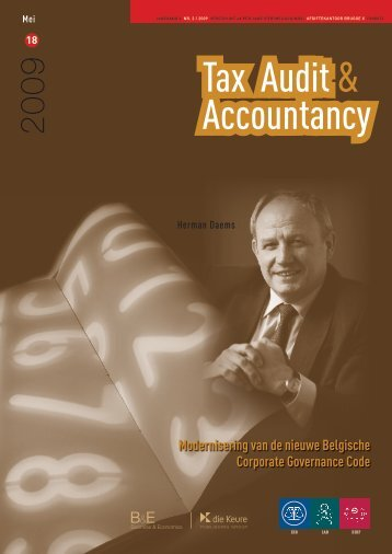 Tax audit & accountancy mei 2009 - IBR