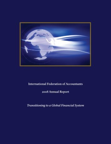 IFAC 2008 annual report - IBR