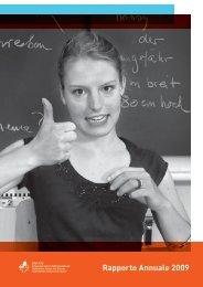 Rapporto Annuale 2009 - FSS Federazione Svizzera dei Sordi