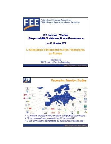 2. Hilde Blomme: L'attestation d'INF en Europe - IBR