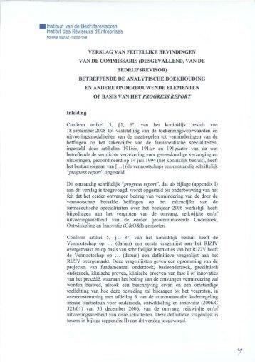 • Instituut van de Bedrijfsrevisoren Institut des Réviseurs d ... - IBR