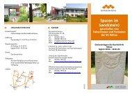 Spuren im Sand(stein) - Kommunalunternehmen Kliniken und ...