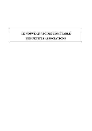 Le nouveau droit comptable des petites ASBL - IBR