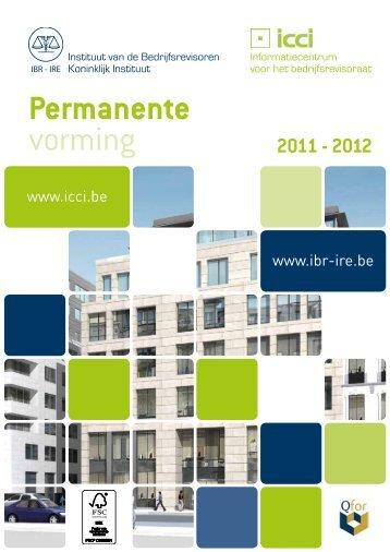 Permanente vorming - IBR