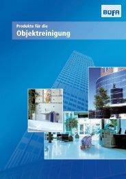 Produkte für die Objektreinigung [0.5 Mb] - Chemie AG