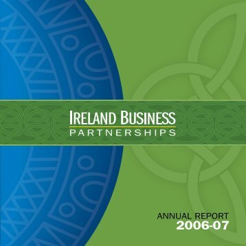 ANNUAL REPORT - Innovation, Business and Rural Development ...