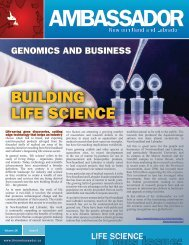 BuILdIng LIfe ScIence - Innovation, Business and Rural ...