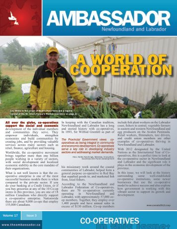 A WORLD OF COOPERATION - Innovation, Business and Rural ...