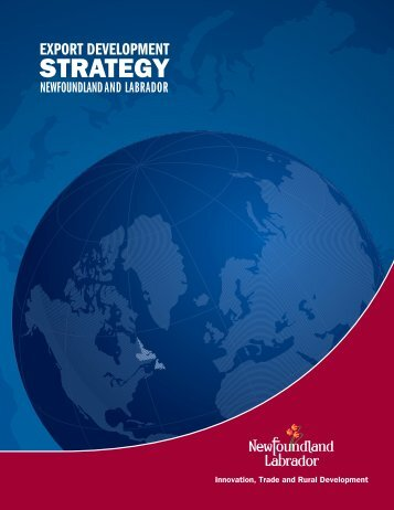 Export Development Strategy - Innovation, Business and Rural ...