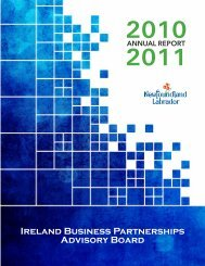 Ireland Business Partnerships Advisory Board - Innovation ...