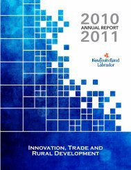 2010-11 Annual Report - Innovation, Business and Rural ...
