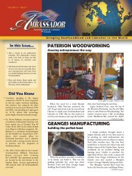 geanges manufacturing - Innovation, Business and Rural ...